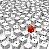 切成小方块 向量例证