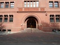 切断霍尔,哈佛围场,哈佛大学,剑桥,马萨诸塞,美国 免版税库存图片