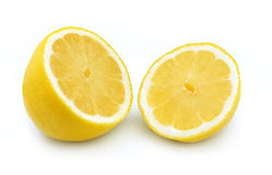 切柠檬 免版税库存图片