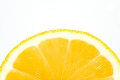 切柠檬 图库摄影