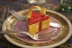 切片乳酪蛋糕 图库摄影