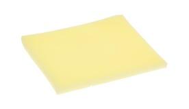 切片在白色背景的普罗卧干酪乳酪 免版税库存图片