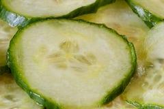 切片新鲜的黄瓜 免版税图库摄影