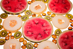 切片果子 图库摄影