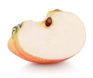 切片红色苹果果子 库存照片