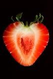 切片草莓 免版税图库摄影