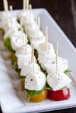 切片藤成熟蕃茄品种 库存照片