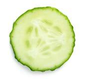切片黄瓜 免版税库存图片