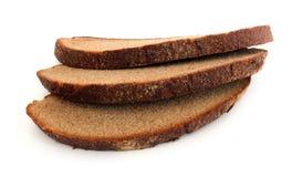 切片黑麦面包 库存照片
