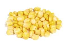 切甜玉米 免版税库存照片