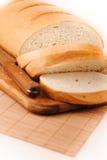 切的大面包 库存图片