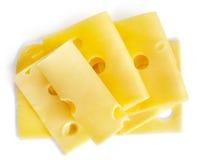 切的干酪 库存照片