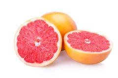 切的新鲜水果葡萄柚 免版税库存照片