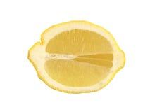 切的柠檬 免版税图库摄影