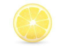 切的柠檬 免版税库存图片