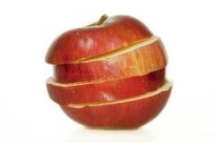 切的苹果 免版税库存照片