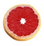 切的葡萄柚 库存照片