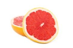 切的葡萄柚 库存图片
