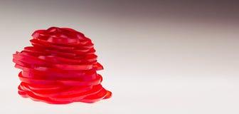 从切的辣椒粉的图 图上升了 概念艺术 免版税图库摄影
