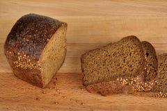 切的面包香菜 库存图片