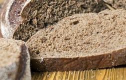 切的面包黑麦 免版税库存图片
