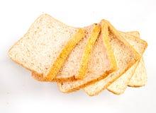 切的面包 库存图片