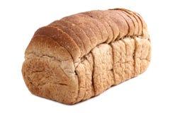 切的面包 免版税库存照片