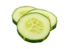 切的黄瓜 免版税库存照片