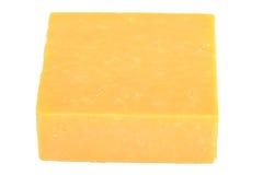切达干酪块  免版税图库摄影