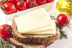 切达干酪 免版税库存图片