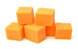 切达干酪 库存图片
