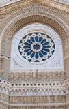 切里尼奥拉中央寺院大教堂。普利亚。意大利。 免版税库存图片