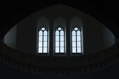切里尼奥拉窗口Tonti圆顶  库存照片