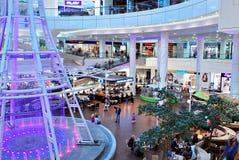 什切青,波兰 2016年9月01日 星系shoping的中心 免版税库存图片