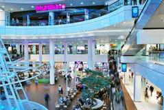 什切青,波兰 2016年9月01日 星系shoping的中心 图库摄影