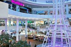 什切青,波兰 2016年9月01日 星系shoping的中心 免版税库存照片