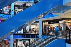 什切青,波兰 2016年9月01日 Kaskada shoping的中心 免版税库存照片