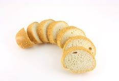 切面包片 库存照片