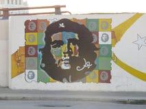 切・格瓦拉街壁画 免版税图库摄影