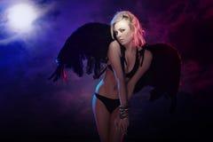 划分为的天使 库存图片