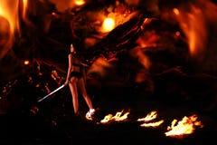 划分为的天使 免版税图库摄影