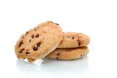 划分为的曲奇饼 免版税图库摄影