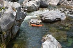 划皮船在Pico东方狐鲣国家公园洪都拉斯 库存图片