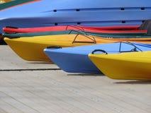 划皮船的夏天 库存图片