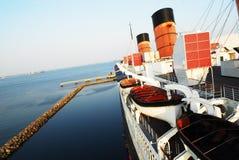 划线员海洋 图库摄影
