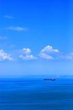 划线员海洋 库存照片