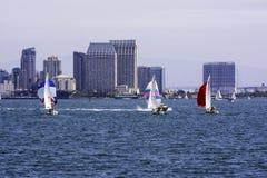 划船在加利福尼亚 免版税库存图片