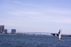 划船在加利福尼亚 库存照片
