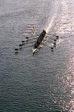 划船小组 免版税图库摄影
