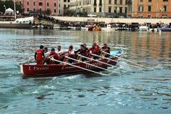 划船竞争 免版税库存图片